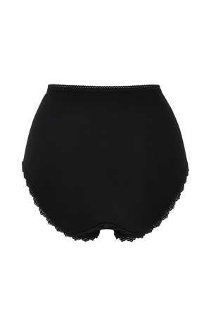 High Waist Briefs / Black