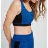 Yoga Cross Back Top / Blue