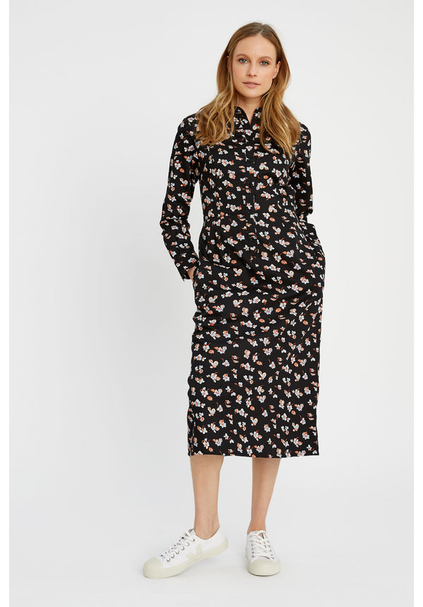Piper Floral Shirt Dress