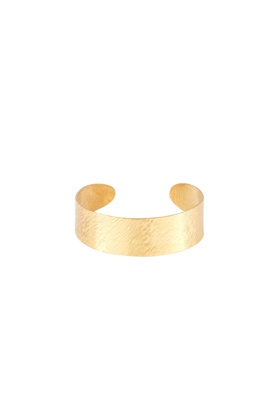 Brushed Cuff Brass