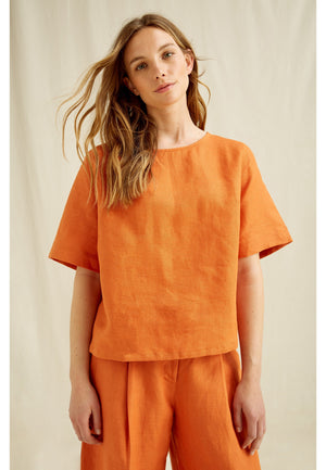 Arabella Orange Top