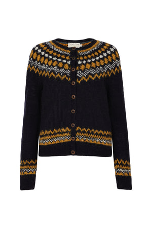 Hand Knitted Wool Cardigan, S