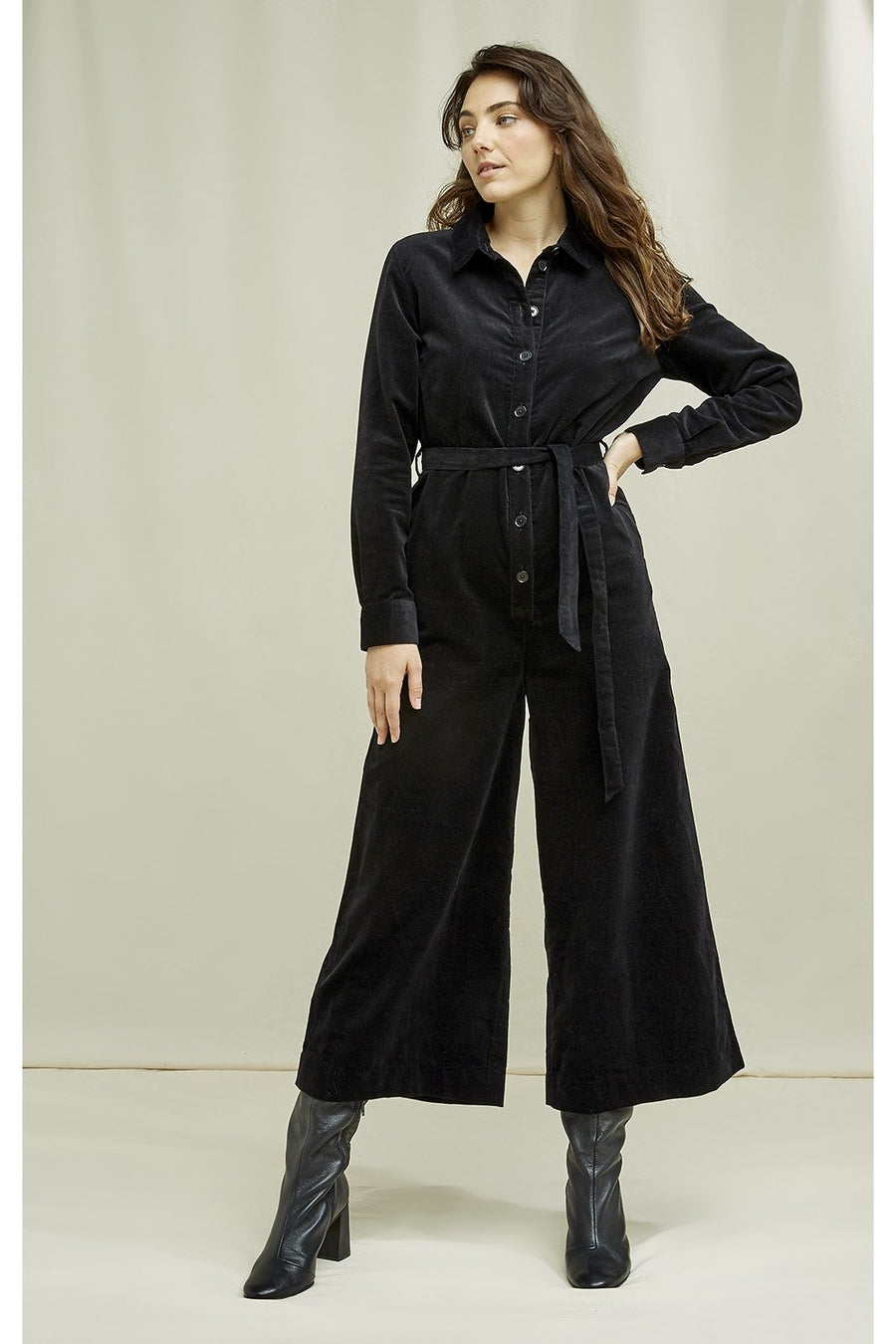 Mairi Velvet Boilersuit