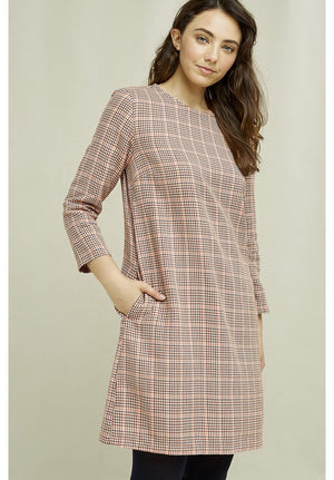 Erica Houndstooth Dress
