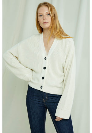 Jasmine Cardigan In Cream