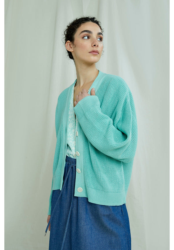 Jasmine Cardigan In Mint