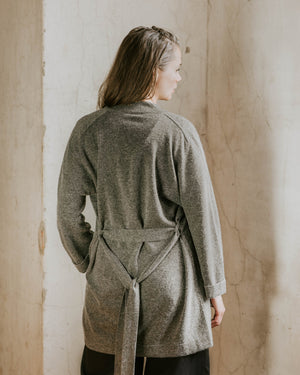 Store of Hope Long Cardigan - Dark Grey