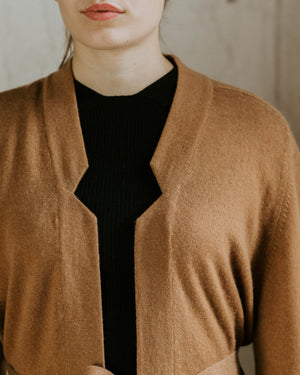 Store of Hope Long Cardigan - Carob