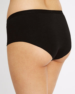Low Rise Shorts / Black