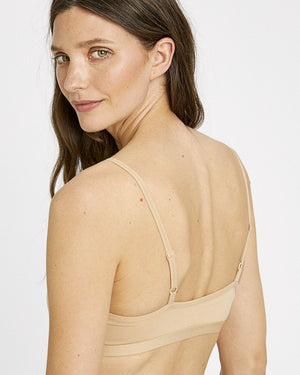 Soft Bra Top / Beige
