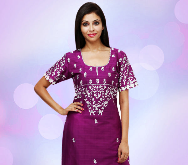 Ethnic wear for women, georgette, net, silk, cotton, cotton blend, party wear, online shopping, embroidered, sequined, printed, kurtis, kaftans, palazzos, pants, fusion wear.