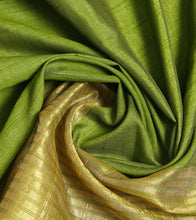 Green Mangalgiri Silk Saree With Zari Work