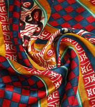 Multi Murshidabad Printed Silk Saree