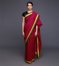 Pink Chanderi Gota Work Saree