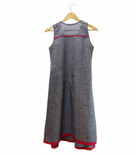 Grey South Cotton Embroidered Dress