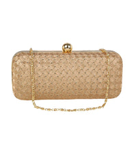Golden Brocade Clutch