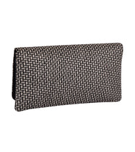Silver Cotton Clutch