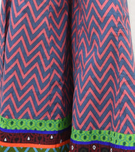 Pink Cotton Printed Palazzos