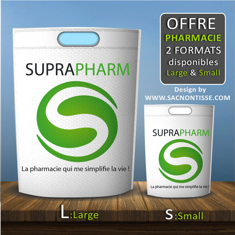 Proposition de Design pour le groupement SupraPharm (groupement de Pharmacie en France)