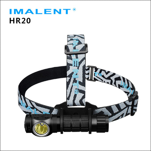 Imalent HR20 Cree XP-L HI LED 1000 lumens outdoor headlamp