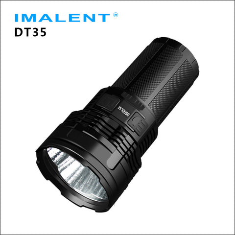 IMALENT DT35 Throw King LED flashlight for hunting outdoor sports OLED display