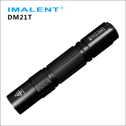 IMALENT DM21T EDC 1000lumens CREE XP-L HI LED USB rechargeable flashlight