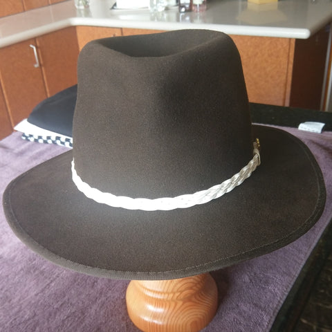 Hat made by Suna Mckay