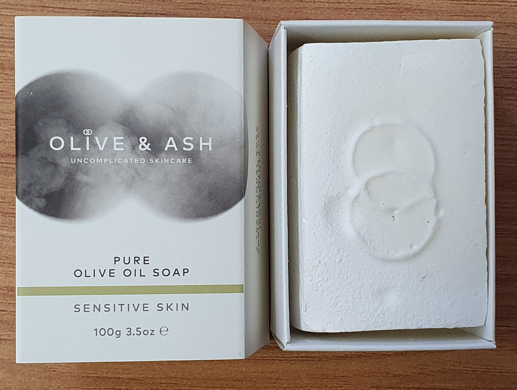 Olive & Ash Pure Olive Oil Soap 100gm