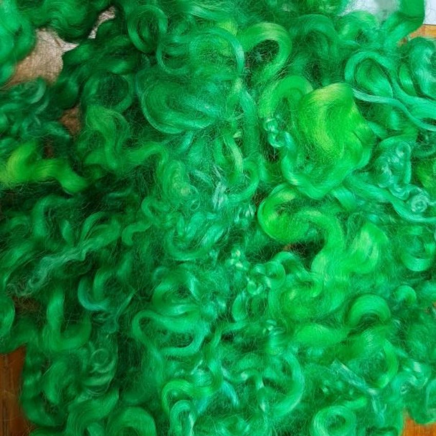 Lime Spider Baby Curls