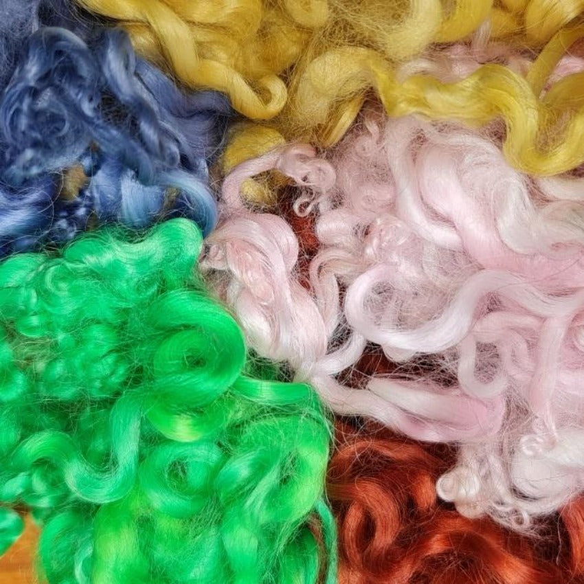 Mixed Colours Baby Curls