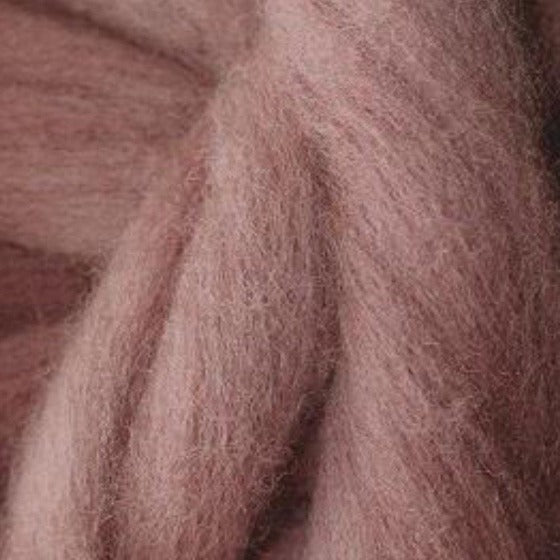 Antique Pink Tops - Highland Felting and Fibre Supplies