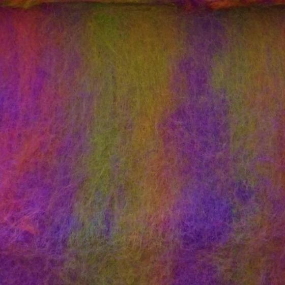 Belladonna Blended Batt - Highland Felting and Fibre Supplies