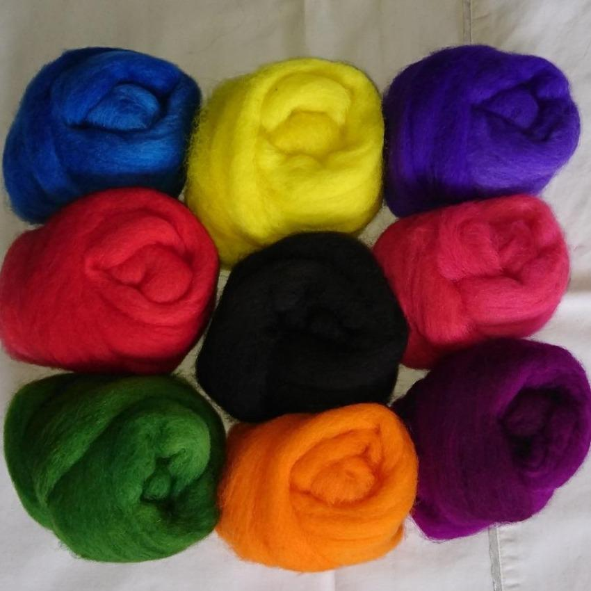 Bright Pack - Highland Felting and Fibre Supplies
