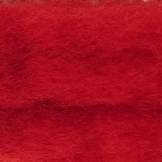 Chilli Fire Batts - Highland Felting and Fibre Supplies