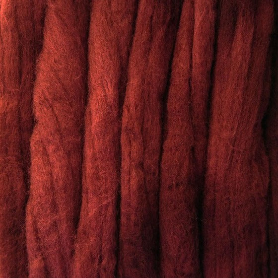 Dark Cherry Tops - Highland Felting and Fibre Supplies