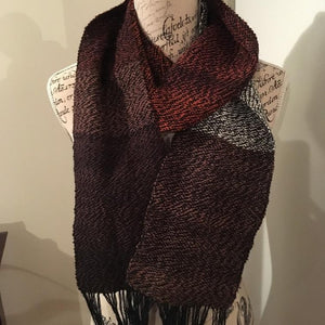 Earthy Pack and black scarf