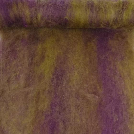 Grape Vine Blended Batt 200gm - Highland Felting and Fibre Supplies