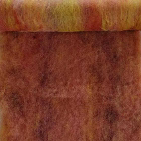 Jellybean Blended Batt 200gm - Highland Felting and Fibre Supplies