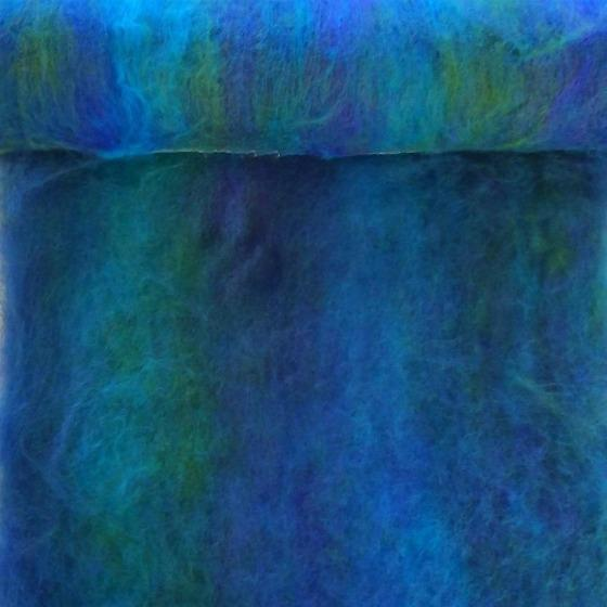 Jewels Blended Batt 200gm - Highland Felting and Fibre Supplies
