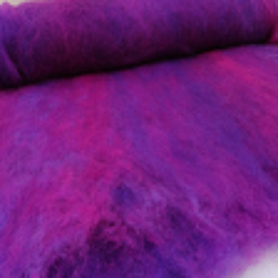 JU Berry Blended Batt 200gm - Highland Felting and Fibre Supplies
