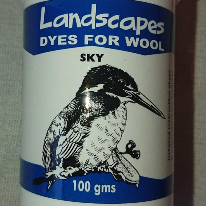 Sky 100gm - Highland Felting and Fibre Supplies