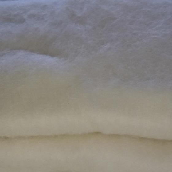 Natural White Fine Australian Merino Batts - Highland Felting and Fibre Supplies