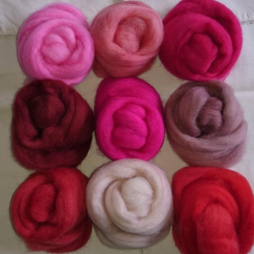 Pink Pack - Highland Felting and Fibre Supplies