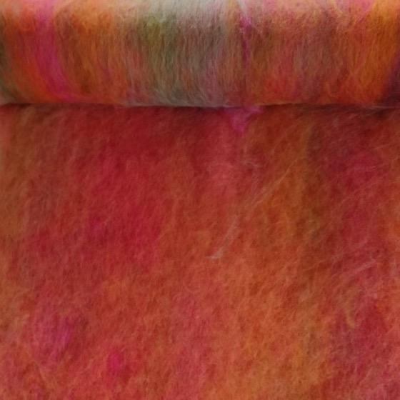 Summer Evening Blended Batts - Highland Felting and Fibre Supplies