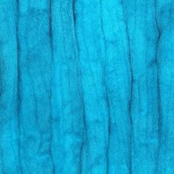 Turquoise Batts - Highland Felting and Fibre Supplies