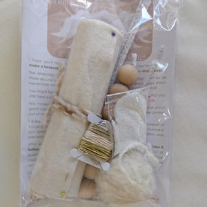 Dancing Angels Craft Kit - Highland Felting and Fibre Supplies