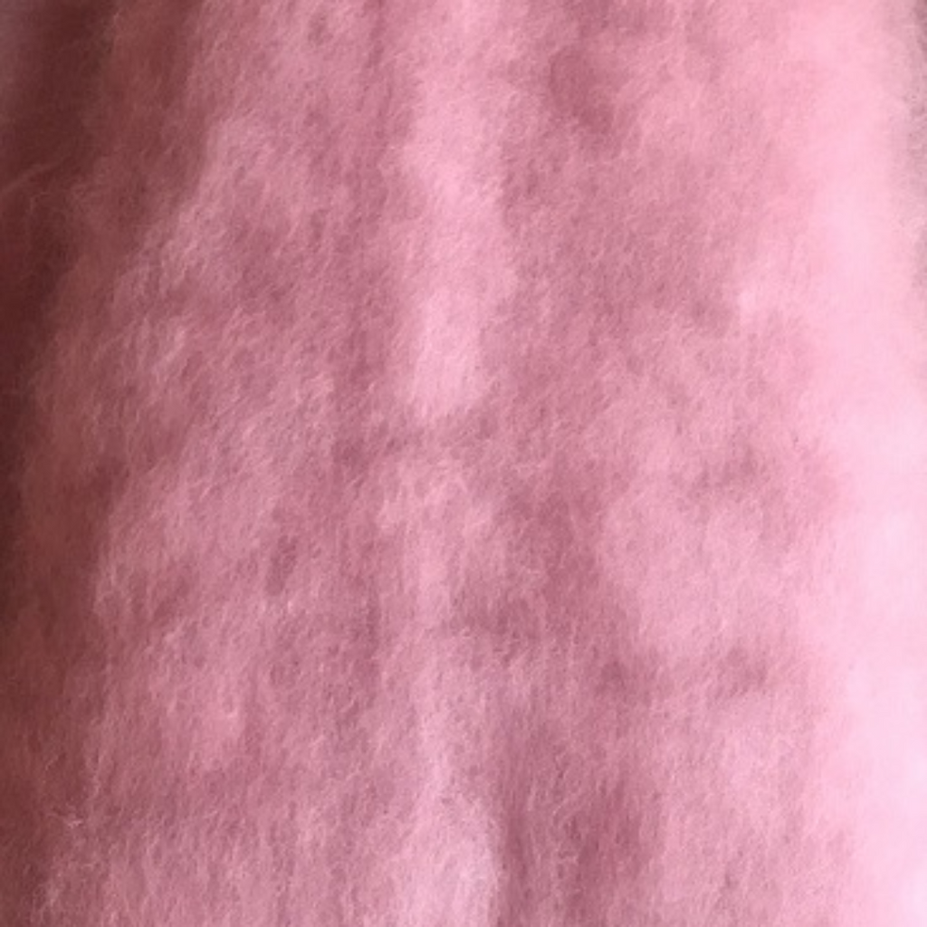 Antique Pink Batts - Highland Felting and Fibre Supplies