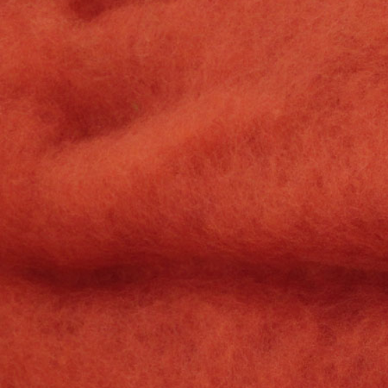 Burnt Orange Batts - Highland Felting and Fibre Supplies
