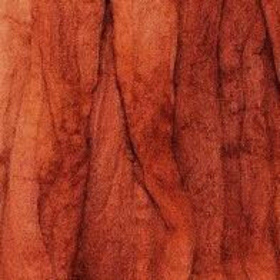 Burnt Orange Tops - Highland Felting and Fibre Supplies