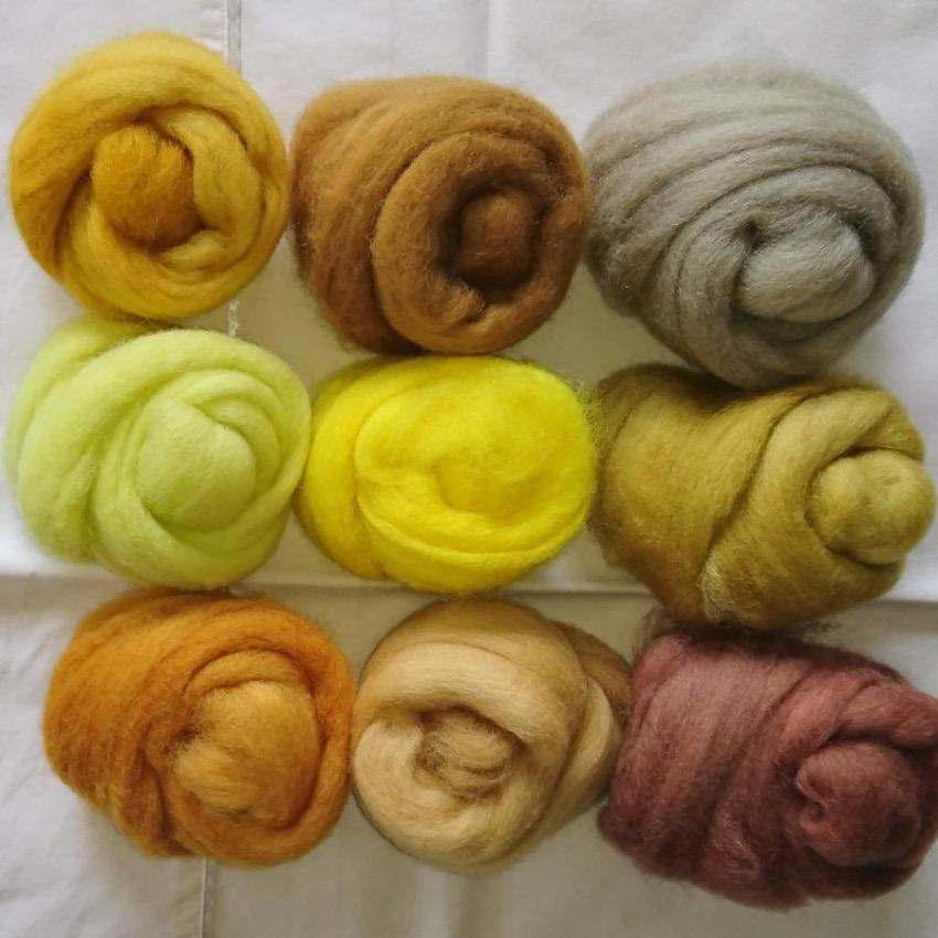 Yellow Pack - Highland Felting and Fibre Supplies